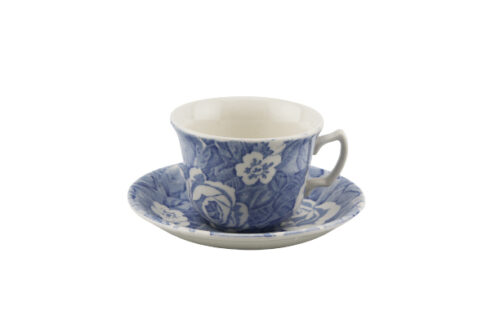 Pale Blue Victorian Chintz
